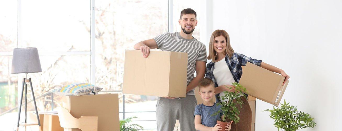 Сделать переезд с детьми более комфортным
